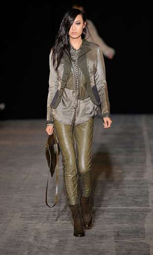 Leather-Loaded Runways