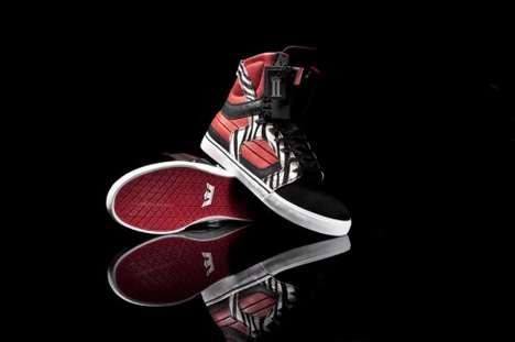 Snazzy Zebra Sneakers