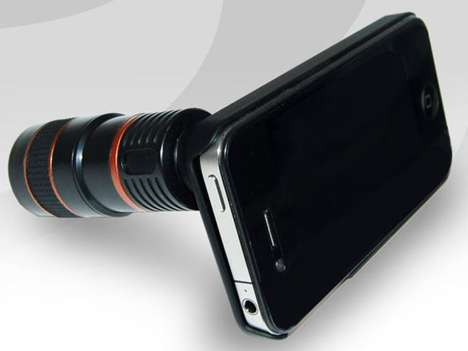 Professional iPhone Lenses - The iPhone Eyescope is a Handy iPhotography Helper