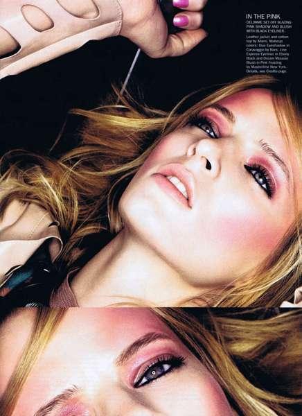 Rosy Beauty Editorials