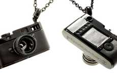 Shutterbug Jewelry - Show Your Love for Photography by Wearing the Leica M8 Necklace