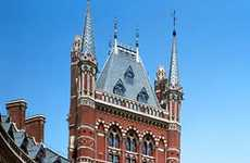 Fairy Tale Castle Hotels - London's St. Pancras Renaissance Hotel is the Epitome of Fantasy Luxury