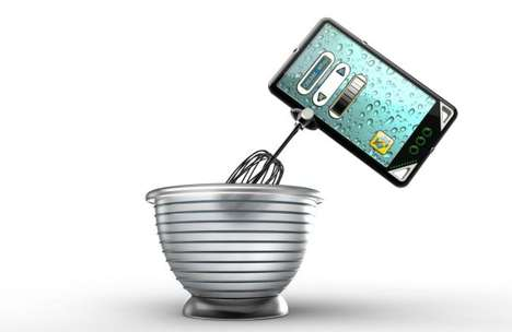 Drill, Cook or Bore with the PRAX Cellphone
