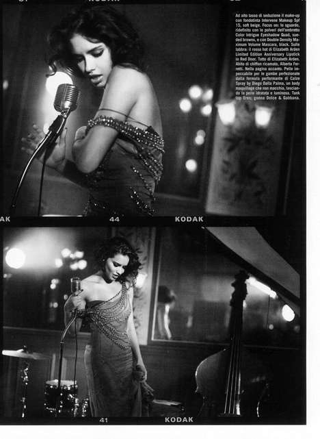 The Bewitching Adriana Lima Vogue Italia February 2011 Editorial