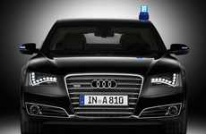 Heavily Armored Autos - The Audi A8 L Security Can Take Bullets, Grenades and Outrun the Bad Guys