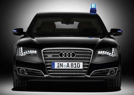 The Audi A8 L Security Can Take Bullets, Grenades and Outrun the Bad Guys
