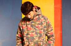Multicolored Camo Clothing