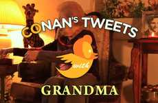 Tweet-Reading Grandmas - Boo Ya Pictures Presents a Better Way to Get the Latest Tweets