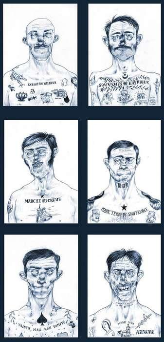 Prison Tattootorials