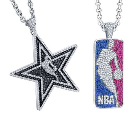 The Blinged-Out Gameplan Concepts NBA Diamond Jewelry