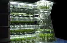 Attachable Urban Farms - The Clepsydra Urban Farm is Designed for Quick and Efficient Setup