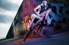 Piggyback Photoshoots - The Martha Streck WestEast Magazine Spread Takes a Ride Through Bold Colors
