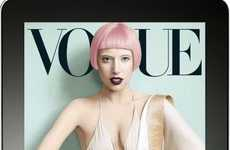 Exclusive Celeb Apps - The Vogue Cover Exclusive iPad App Offers Behind-the-Scenes Star Access