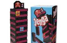 Tactile Gamer Puzzles - Donkey Kong-Themed Jenga Brings a Nintendo Twist to a Classic Game