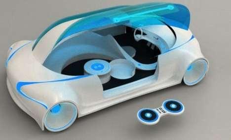 Futuristic Party Cars