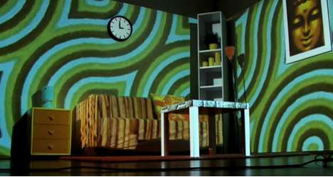 Projection-Mapped Homes