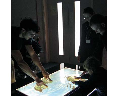 13 Innovative Touchscreen Tables