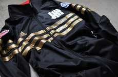 Blinged Track Apparel - The Limited-Edition UNDFTD x Adidas Jacket for NBA All-Star Weekend
