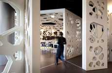 Perforated Java Joints - The LOFF Meltino Bar & Lounge Uses Coffee as Its Conceptual Inspiration