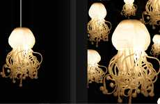 Jellyfish Lighting - The Spermatozoi Collection by Dea Luce is Inspired by Nature