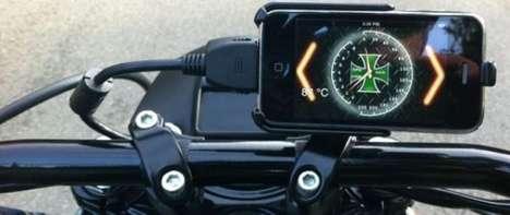 Smartphone Motorcycle Displays