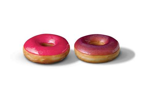 Couture Junk Food - The Krispy Kreme Glamour Glaze Edition is Stylishly Delicious
