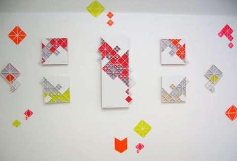 Geometric Art Pieces