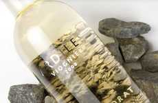 Riverbed Wine Branding - Ardiles Viognier Packaging is Designed with the Clarity of a Creek