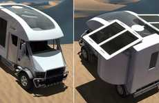 Eco-Conscious Campers - The Camping Car Offers an Eco-Freindly Adventure