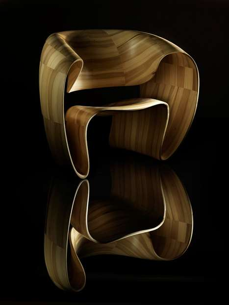 Melting Wooden Chairs
