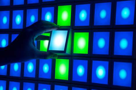 Interactive Light Installations