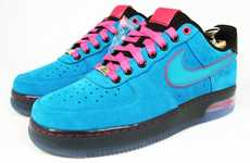 Blinding Aqua Kicks - The Nike Air Force 1 Bespoke by Koizumi is a Vibrant Piece of Footwear