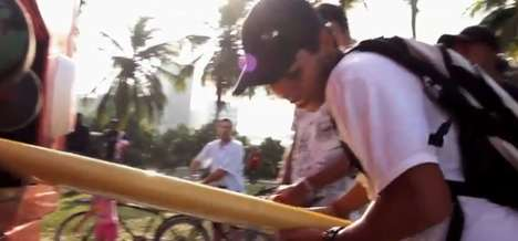 Surfboard Dispensing Vehicles