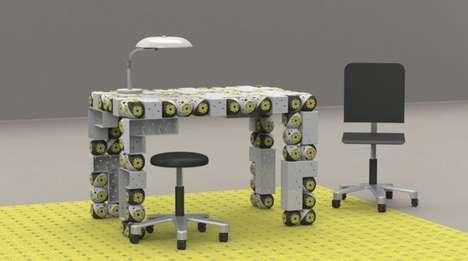 Futuristic Furniture Robots