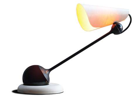 Tom Rossau Combines Contrasting Shapes in This TR17 Lamp
