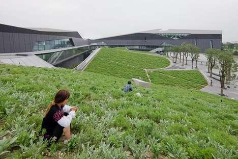 Undulated Green Headquarters