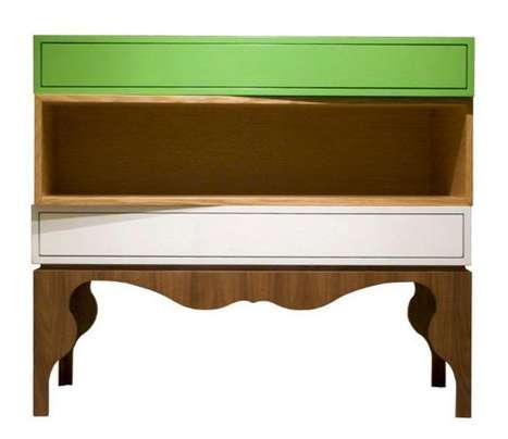 Colorblock Wood Furniture