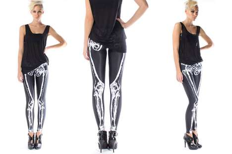Skintight Skeletal Leggings
