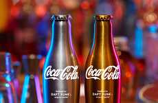 "Electronic Duo Designs - Drink ""Da Funk"" With the New Daft Punk Coca-Cola Bottles"