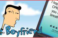 Virtual Faux Boyfriends - This Text Boyfriend Service Gives You the Affection You Need