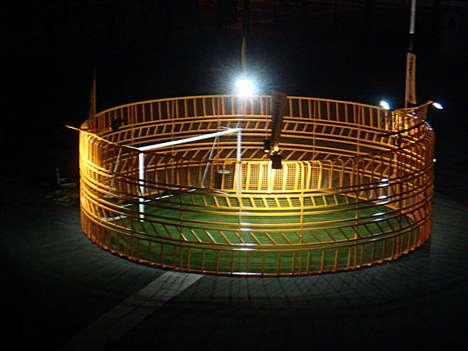 Caged Soccer Stadiums