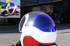 Pedal-Powered Soda Stands - The Pepsi Mobile Gives the Mobile Snack Stand a Makeover