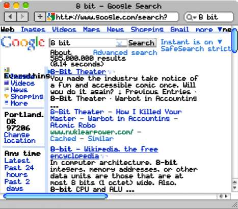 8-Bit Browsers