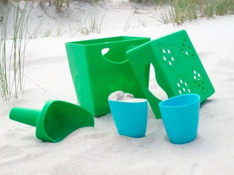 The Zoe B Organic Biodegradable Beach Toys for Green Babies