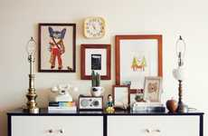 Reorganized Clutter Compositions - Dabito's Thrifty Boredom Vignettes Give Decor Diversity