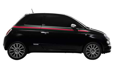 Fashion-Forward Fiats - The New Gucci Fiat 500 Announces a New Accessory Line