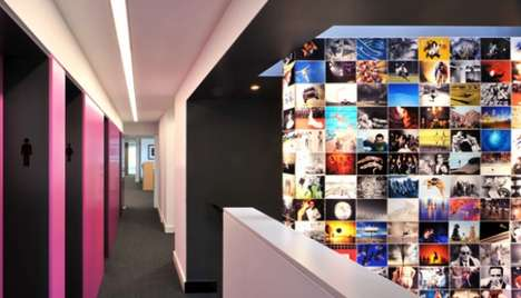 Vibrant Office Interiors - The Interior by Bluebottle Architecture and Design for Getty Images