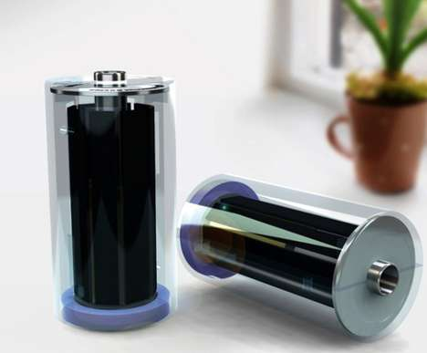 Sun-Fueled Battery Packs