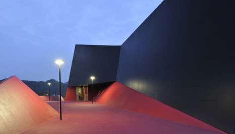 Paparazzi-Ready Sports Facilities - This Sports Hall in Podcetrtek Has a Built-In Red Carpet