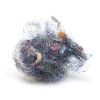 Dust Bunny Accessories - The Hair Ball Pin Will Make You Look like You've Been Rolling on the Floor